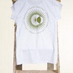White Tribal T-Shirt