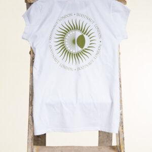 Women's White Tribal T-Shirt