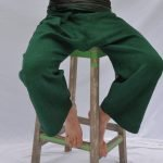 Frontier Emerald Green SamPan Trousers Linen