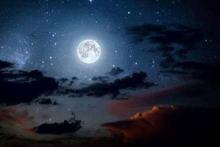 the Hunter's Blue Moon